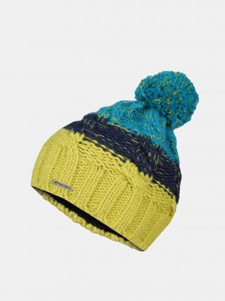 Modro-zelená detská čiapka Hannah ONE SIZE