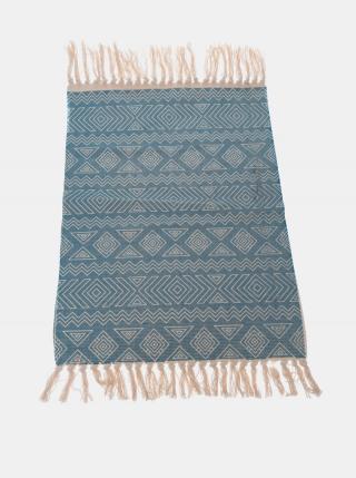 Modrý vzorovaný koberec Dakls modrá
