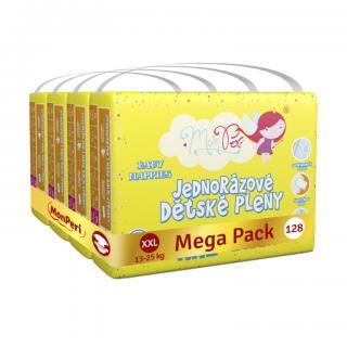 MONPERI Jednorazové plienky Klasik XXL 13-25 kg Mega Pack
