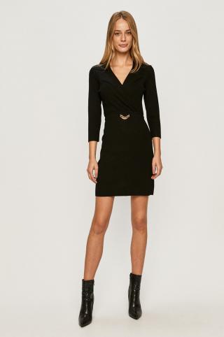 Morgan - Šaty dámské čierna XS