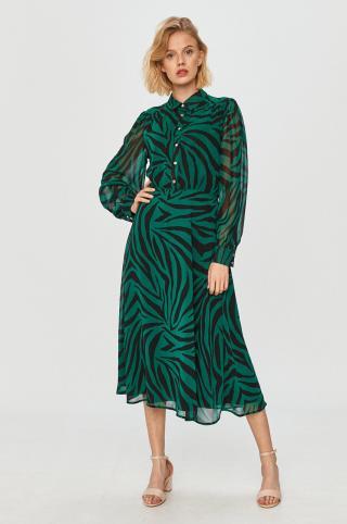 Morgan - Šaty dámské zelená 36