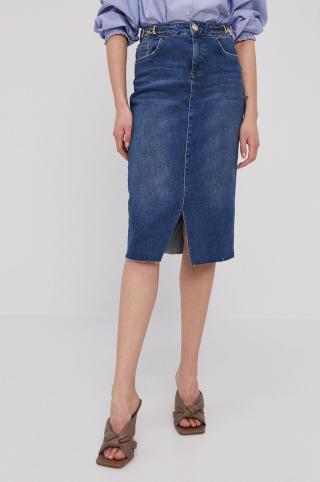 Mos Mosh - Rifľová sukňa dámské modrá 26