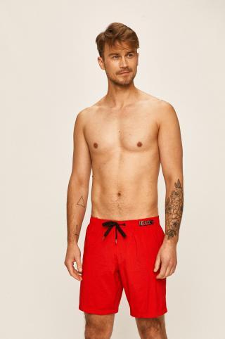Moschino Underwear - Plavkové šortky pánské červená S