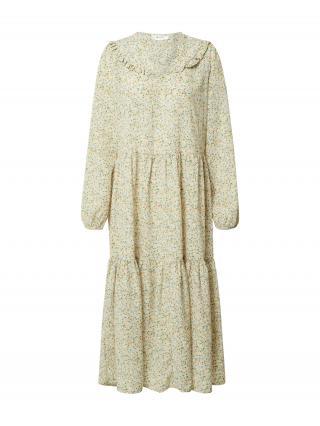 MOSS COPENHAGEN Košeľové šaty Evette  krémová / zmiešané farby dámské 34