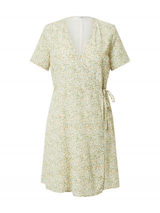 MOSS COPENHAGEN Letné šaty Evette  nebielená / svetlomodrá / oranžová / zelená dámské 34