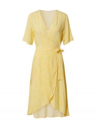 MOSS COPENHAGEN Letné šaty Isalie  žltá dámské 34