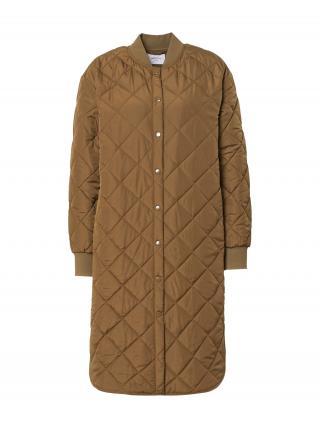 MOSS COPENHAGEN Prechodný kabát Colene Deya  farba ťavej srsti dámské XS