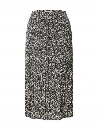 MOSS COPENHAGEN Sukňa  čierna / biela dámské 34