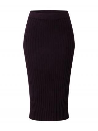 MOSS COPENHAGEN Sukňa Gwen  čierna dámské 38
