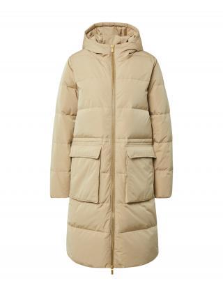 MOSS COPENHAGEN Zimný kabát  béžová dámské L