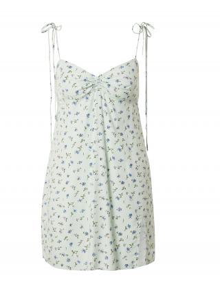 Motel Letné šaty BACIA  svetlomodrá / modrá / olivová dámské 32