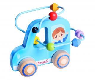 Motorická hračka s aktivitami Car Pestrofarebná