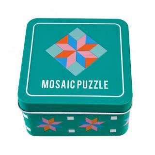 Mozaika v plechovej krabičke