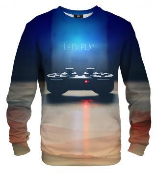 Mr. GUGU & Miss GO Unisexs Sweater S-PC532 Navy Blue dámské XS