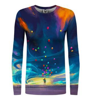 Mr. GUGU & Miss GO Womans Sweater WS-PC1053 Navy Blue dámské L