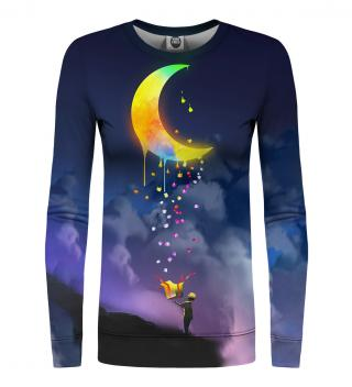 Mr. GUGU & Miss GO Womans Sweater WS-PC1062 Navy Blue dámské XL