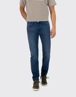 Mud Jeans Regular Dunn True Indigo W32/L32 pánské Modrá W32/L32