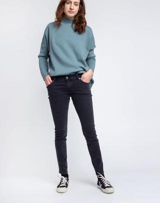 Mud Jeans Skinny Lilly Stone Black W28/L30 dámské Čierna W28/L30