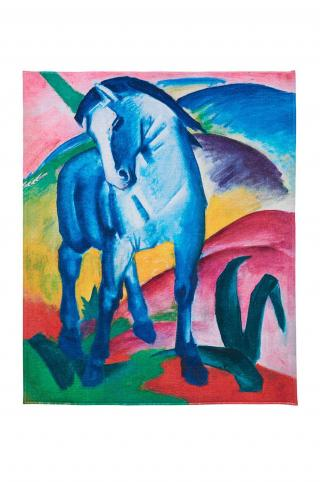 MuseARTa - Uterák Franz Marc - Blue Horse I viacfarebná 144cm x 180cm