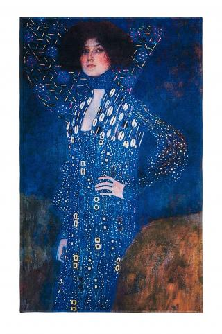 MuseARTa - Uterák Gustav Klimt - Emilie Flöge viacfarebná 108cm x 180cm
