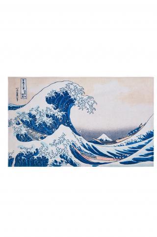 MuseARTa - Uterák Katsushika Hokusai - Great Wave viacfarebná 90cm x 150cm