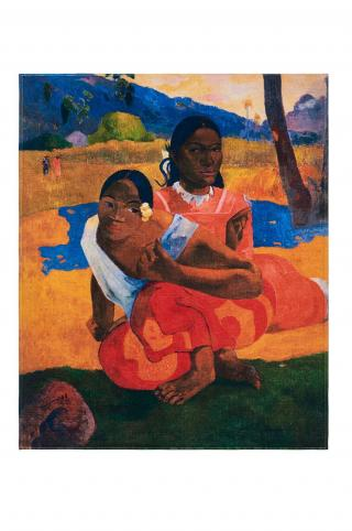 MuseARTa - Uterák Paul Gauguin - Nafea Faa Ipoipo viacfarebná 120cm x 150cm