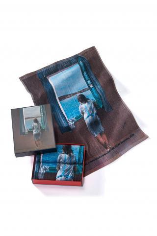 MuseARTa - Uterák Salvador Dali - Figure at the Window  viacfarebná 40cm x 60cm