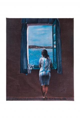 MuseARTa - Uterák Salvador Dali - Figure at the Window viacfarebná 144cm x 180cm