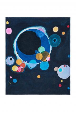 MuseARTa - Uterák Vasily Kandinsky - Several Circles viacfarebná 120cm x 150cm