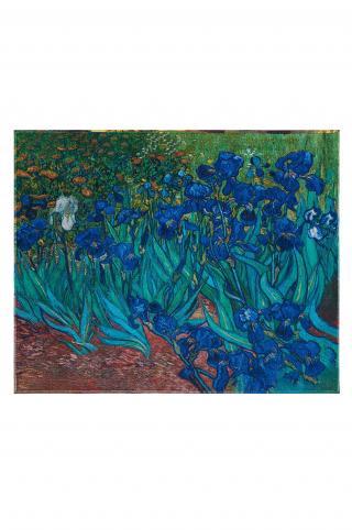 MuseARTa - Uterák Vincent van Gogh - Irises viacfarebná 144cm x 180cm