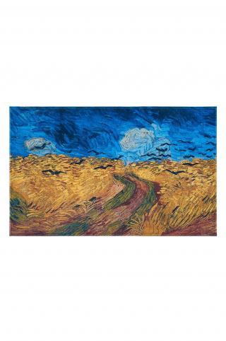 MuseARTa - Uterák Vincent van Gogh - Wheatfield with Crows viacfarebná 108cm x 180cm