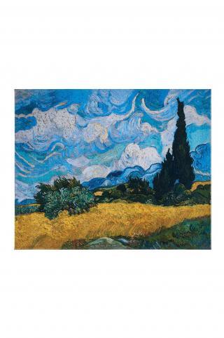 MuseARTa - Uterák Vincent van Gogh - Wheatfield with Cypresses viacfarebná 144cm x 180cm