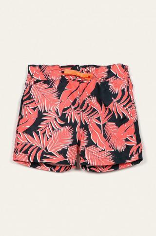 Name it - Detské plavkové šortky 92-122 cm oranžová 104