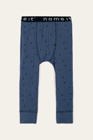 Name it - Detské pyžamové nohavice 80-122 cm modrá 110