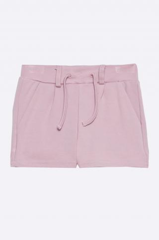 Name it - Detské šortky 92-164 cm ružová 92