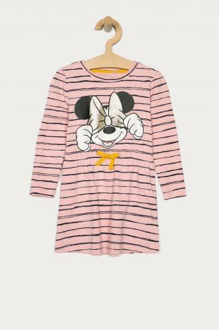 Name it - Dievčenské šaty 92-116 cm ružová 92