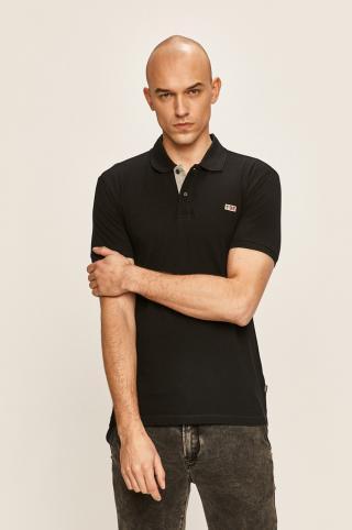 Napapijri - Polo tričko pánské čierna S