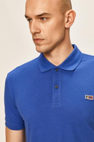 Napapijri - Polo tričko pánské modrá S