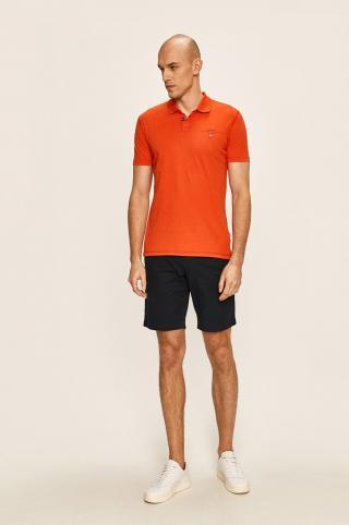 Napapijri - Polo tričko pánské oranžová M