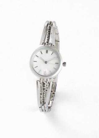 Náramkové hodinky dámské strieborná
