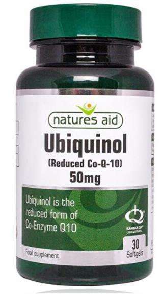 Natures Aid Ubiquinol - 50 mg  cps.30