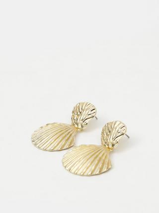 Náušnice v zlatej farbe Pieces Nancy dámské zlatá