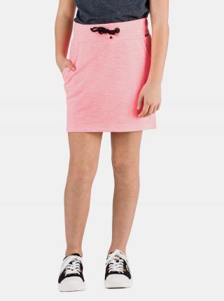 Neonovo ružová dievčenská sukňa SAM 73 neónovoružová 128