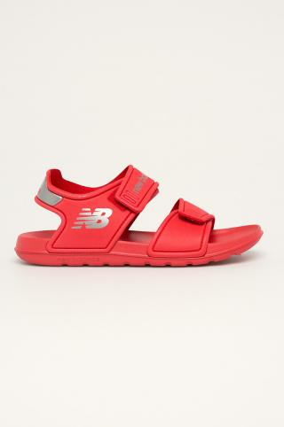 New Balance - Detské sandále YOSPSDRD červená 36
