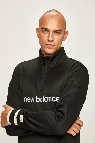 New Balance - Mikina pánské čierna L