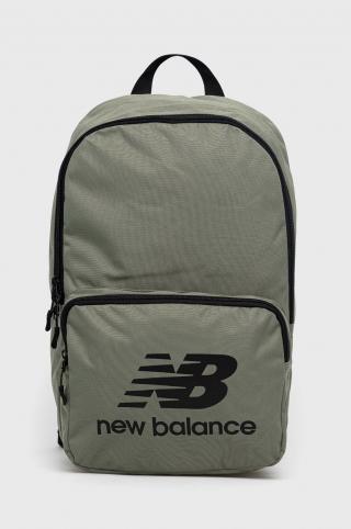 New Balance - Ruksak pánské zelená ONE SIZE