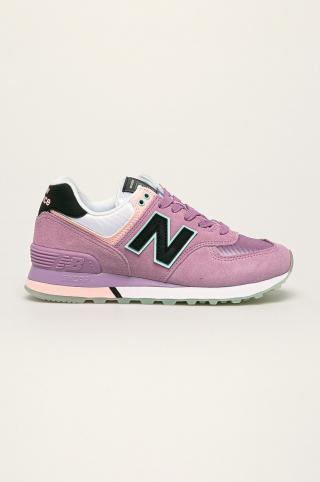 New Balance - Topánky WL574SAW dámské fialová 37