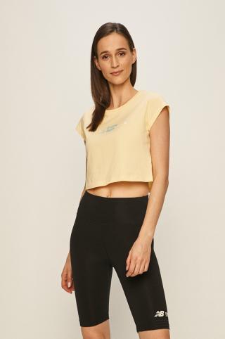 New Balance - Tričko dámské žltá S