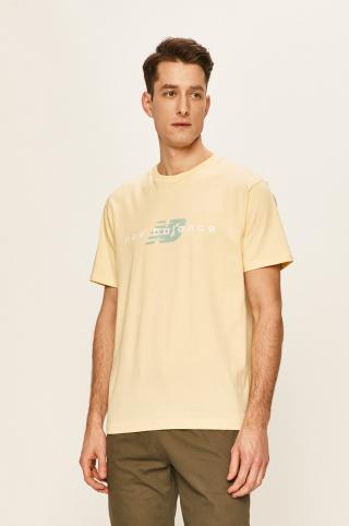 New Balance - Tričko pánské žltá S