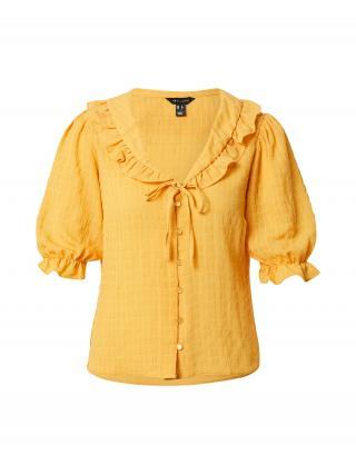 NEW LOOK Blúzka ALISON  zlatá žltá dámské XXS